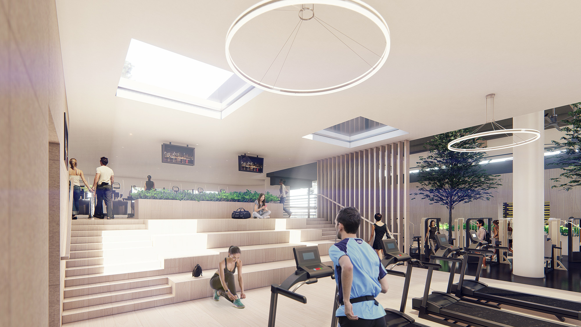 Ccy Architects Bay Club Santa Clara Fitness Lifestyle