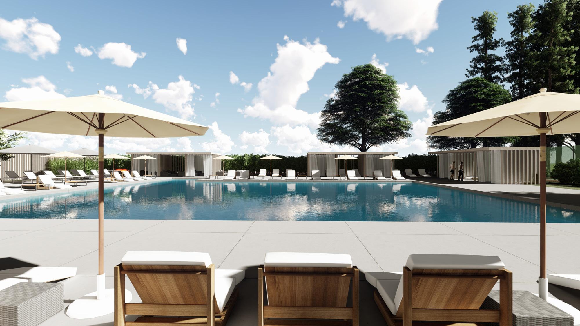 Ccy Architects Bay Club Santa Clara Pool