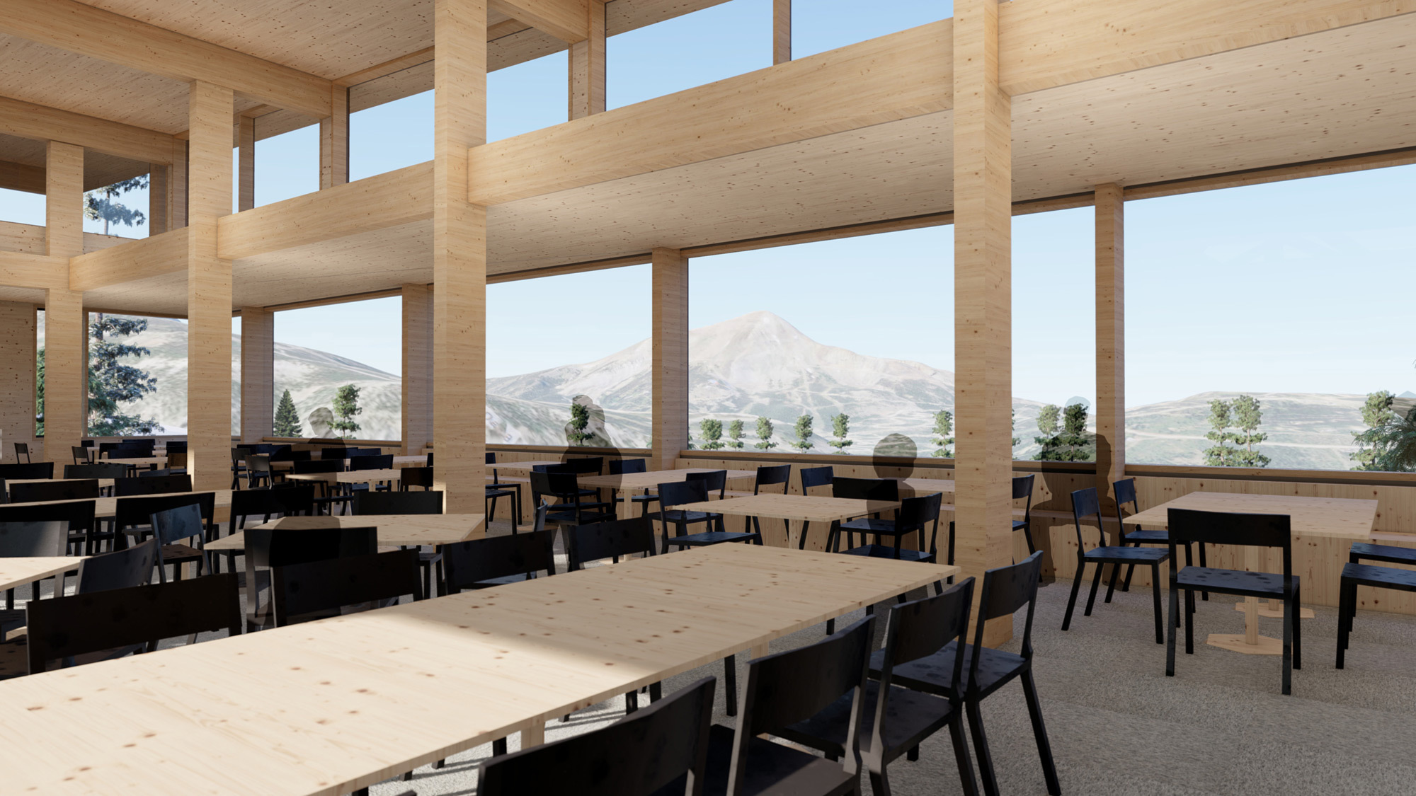 Ccy Architects Eglise Lodge Interiors