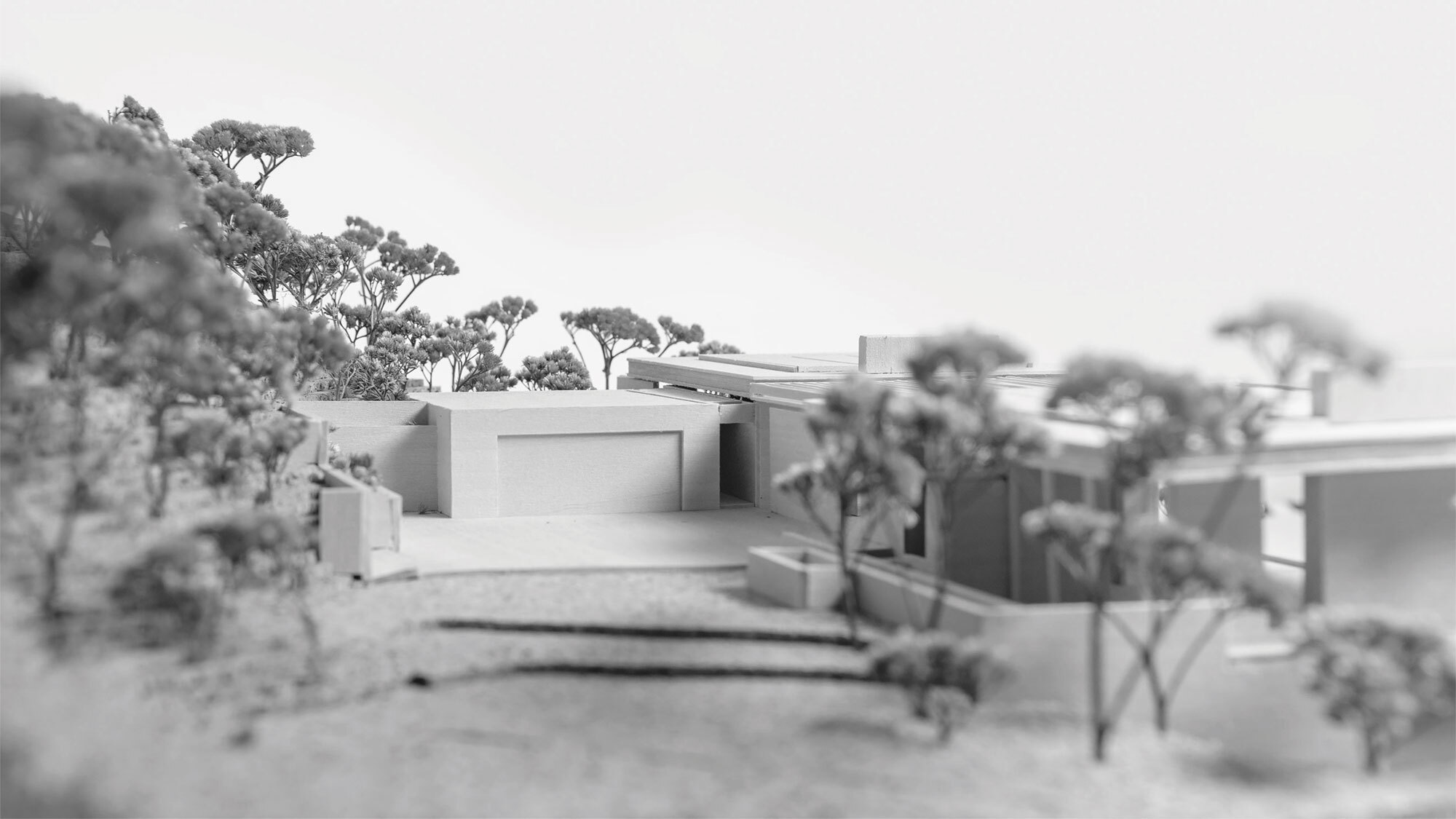 CCY Architects Pavilion model auto