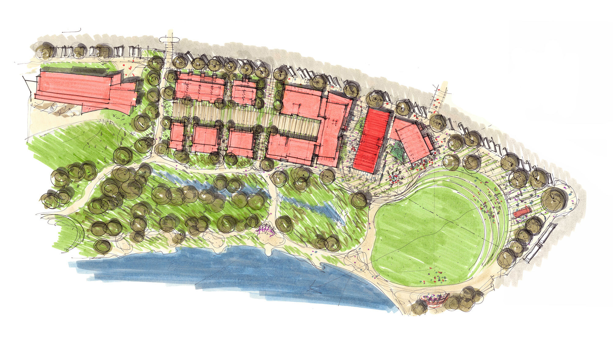CCY Architects site plan