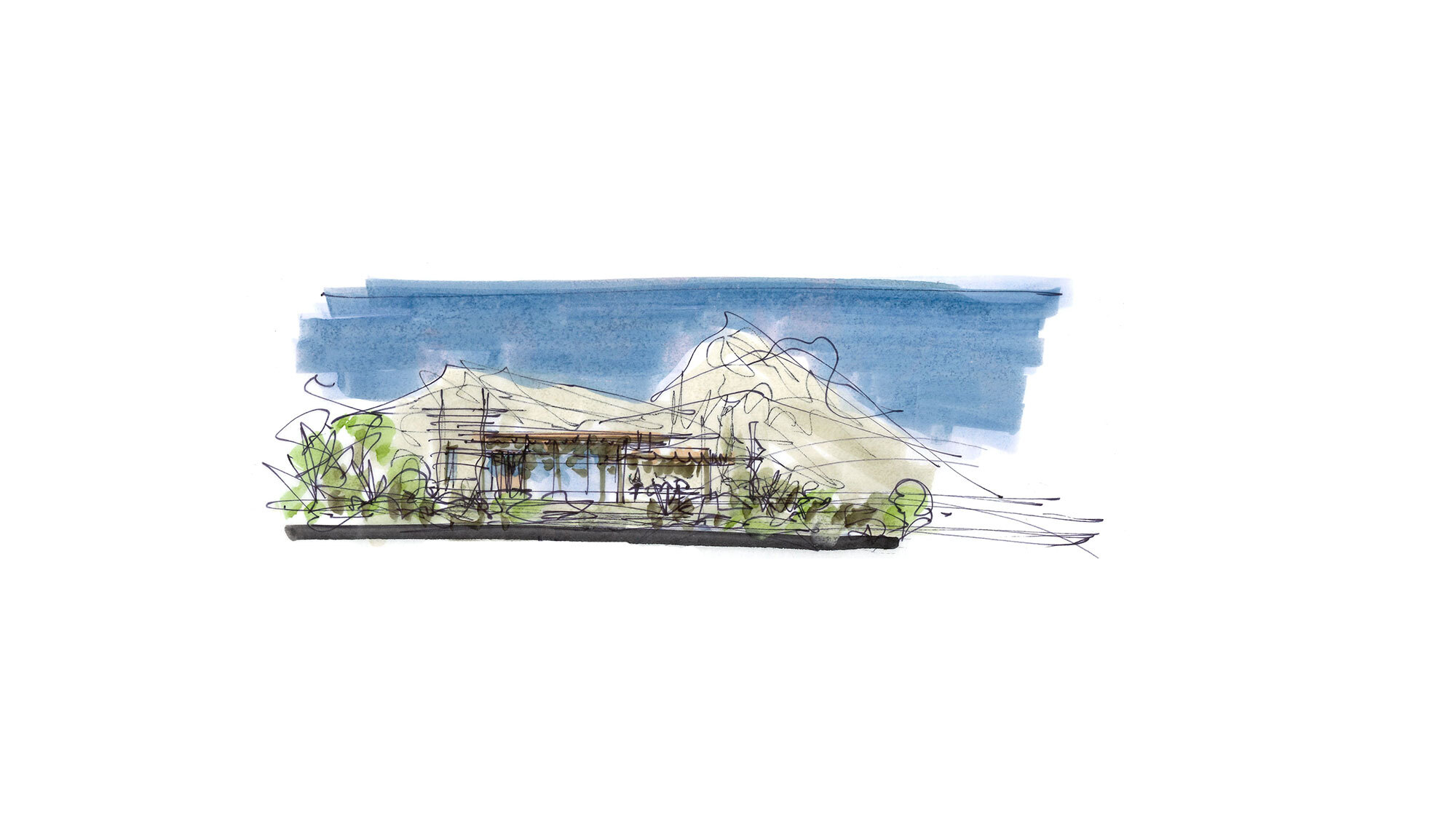 CCY Architects Coral Mountain Sketches 1