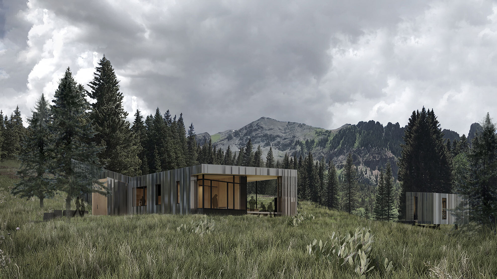 CCY Architects DNA Alpine Rendering VIEW FROM NW