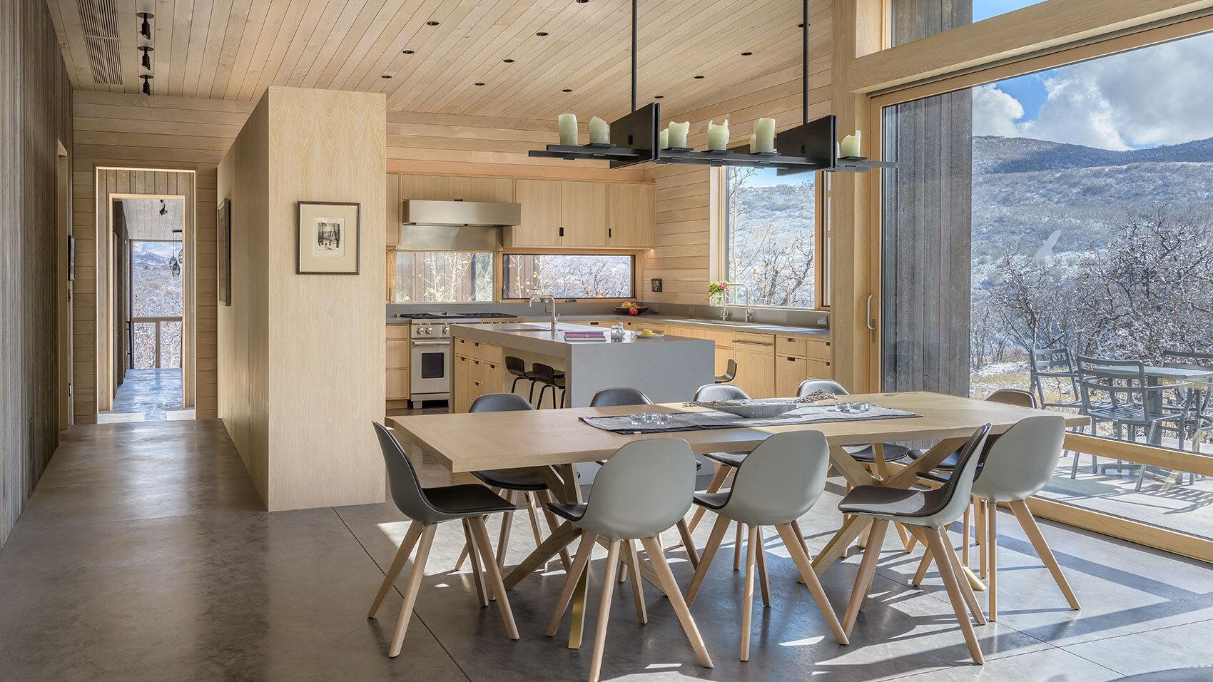 CCY Architects Gammel Damm interior