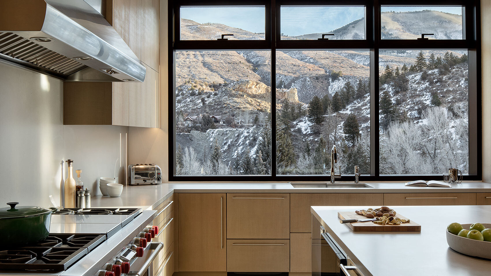 CCY Architects Meadow House Kitchen