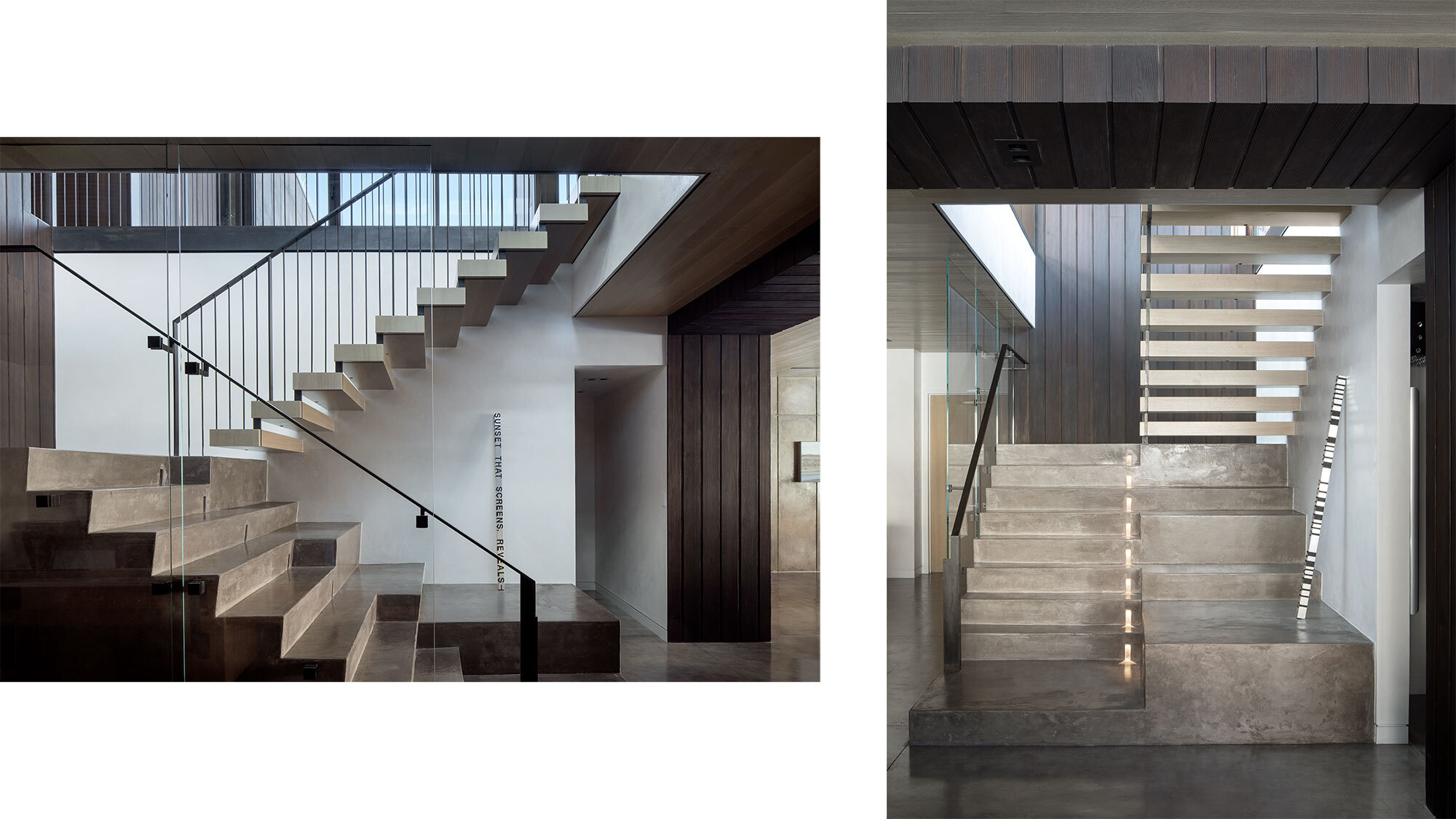CCY Architects Meadow House Staircase