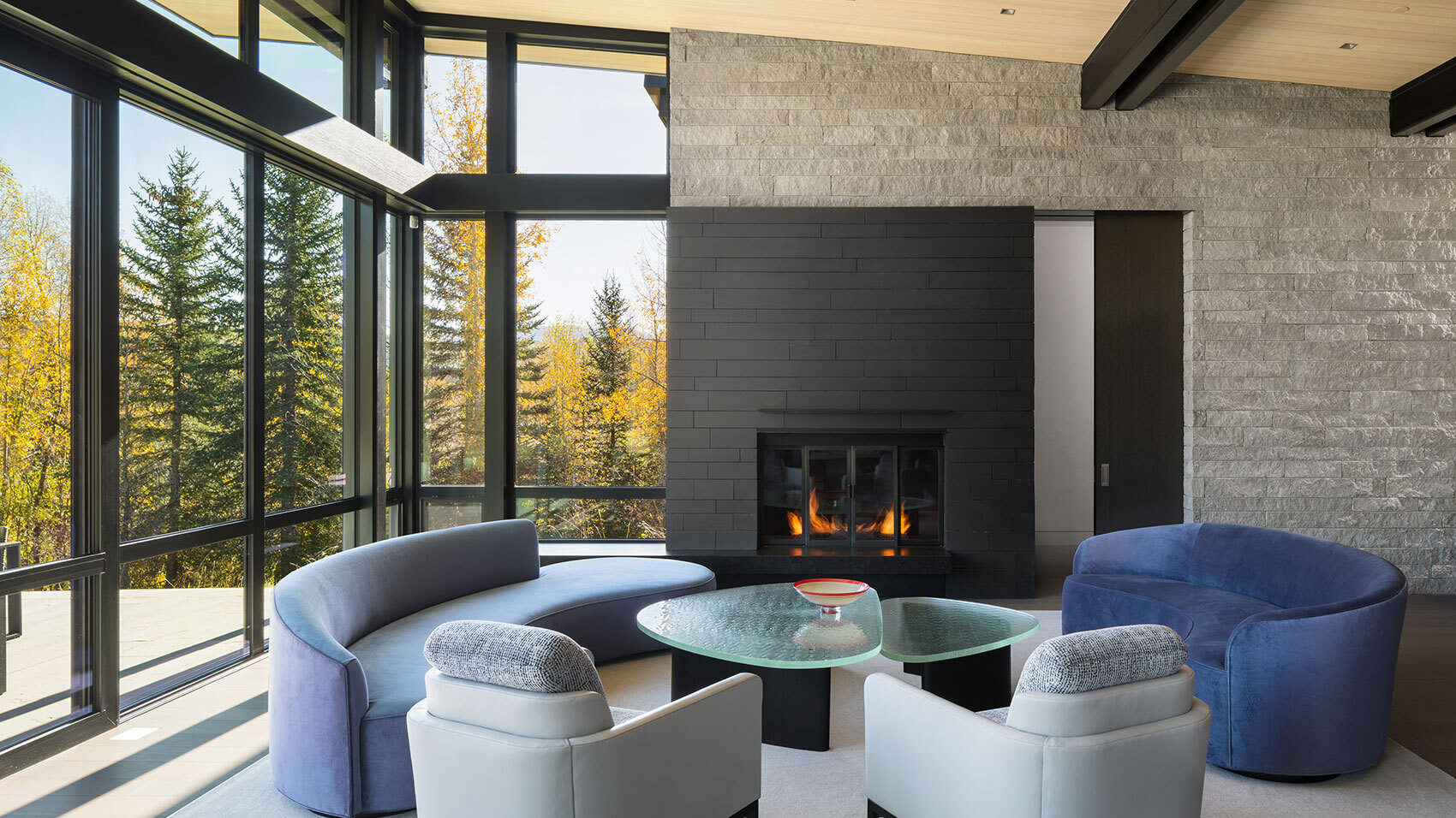 CCY Architects Snake River interiors