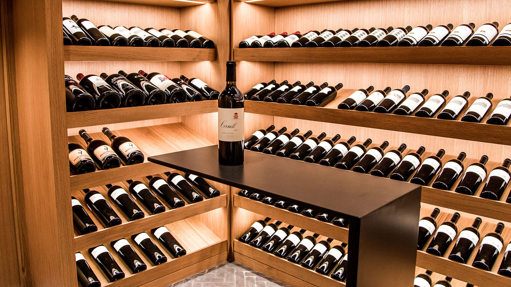 CCY Architects TAG wine cellar