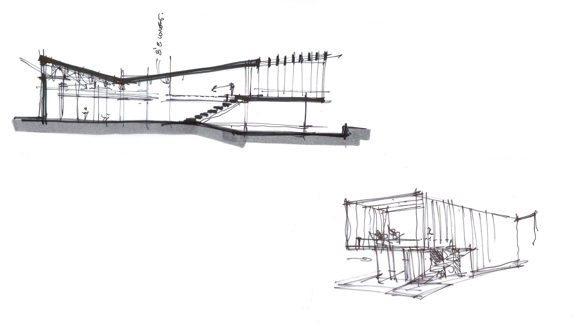 CCY Architects The Art Base sketches