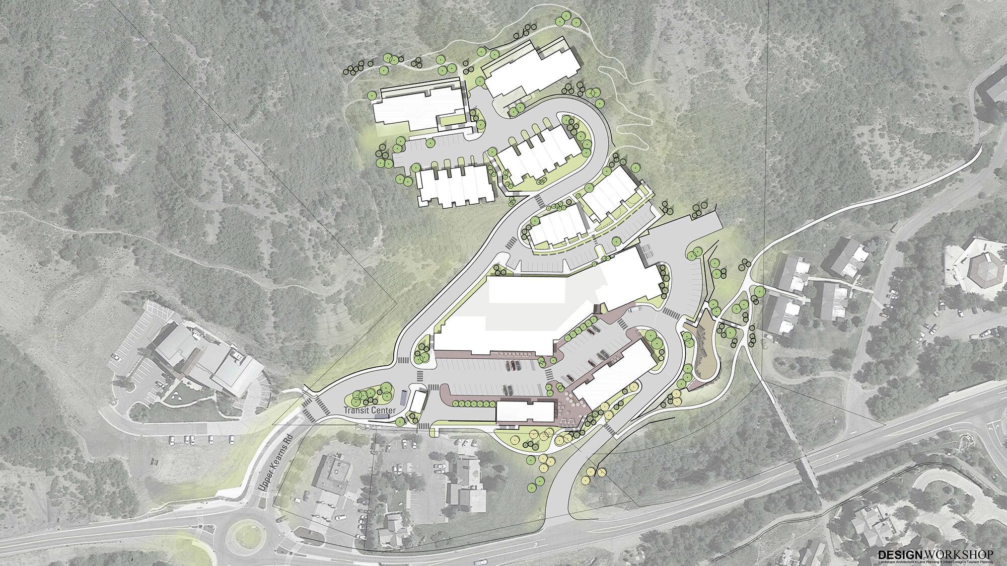 Design Workshop Snowmass Center site plan2